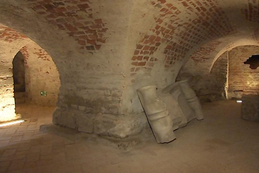 Lapidárium pod velehradskou bazilikou