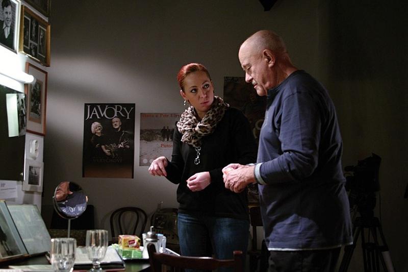 Dramaturgyně pořadu Petra Špičková s Petrem Ulrychem