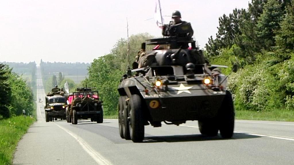 Fanoušci historie si připomněli konvoj do Velichovek