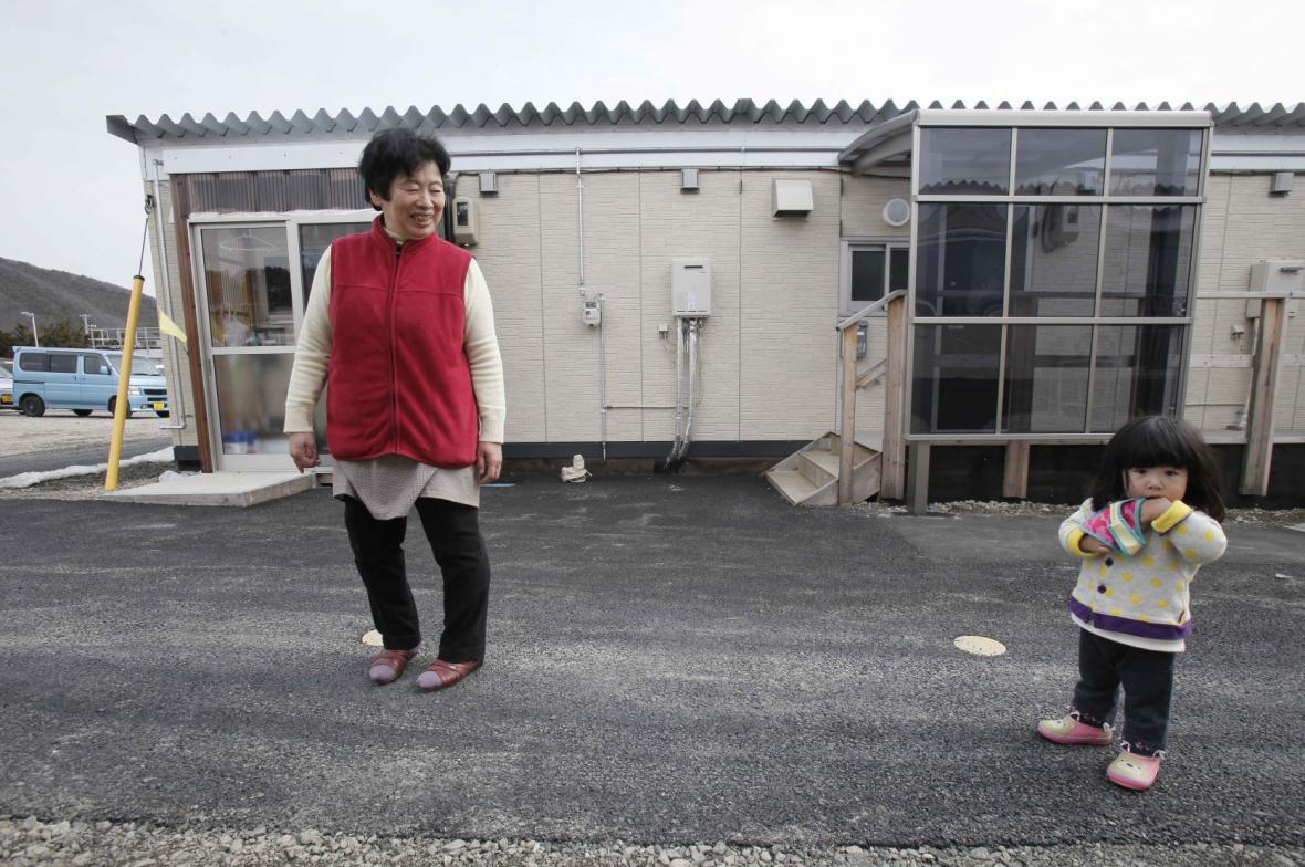 Japonci evakuovaní z oblasti kolem Fukušimy