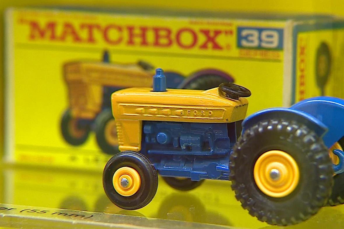 Matchbox vyráběl i zmenšené zemědělské stroje