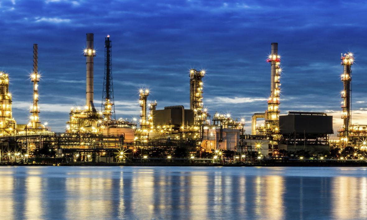 Rafinerie v Texasu