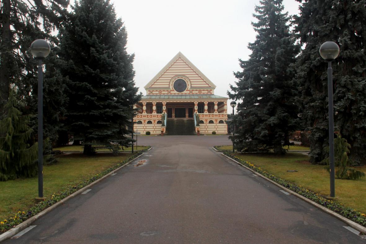 Pavel Janák – Krematorium v Pardubicích
