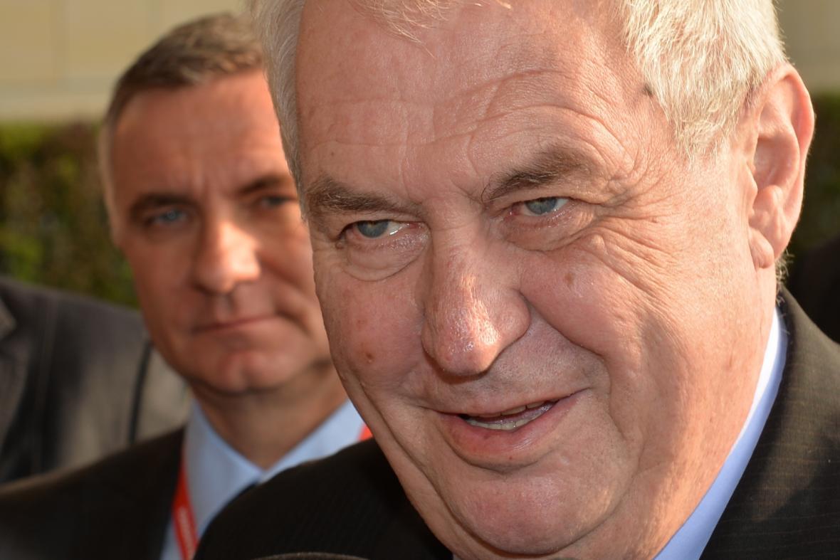 Vratislav Mynář a Miloš Zeman