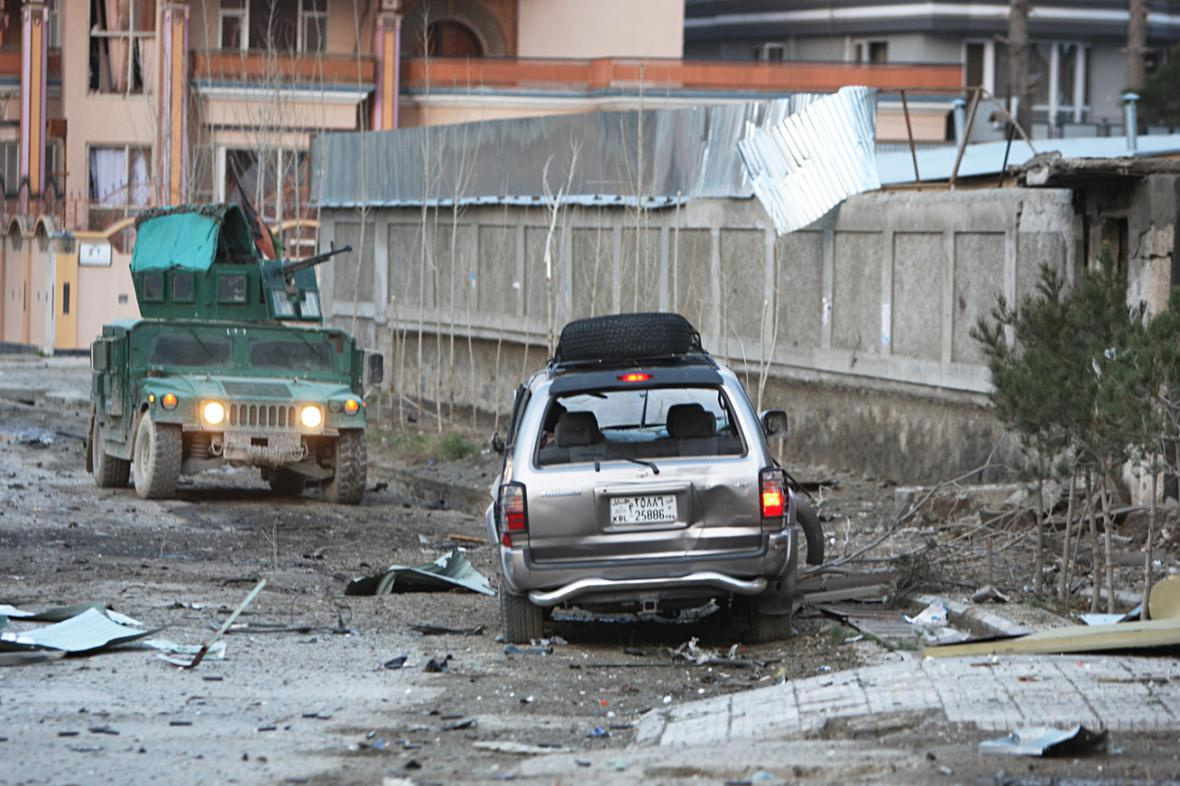 Atentát na penzion v Kábulu