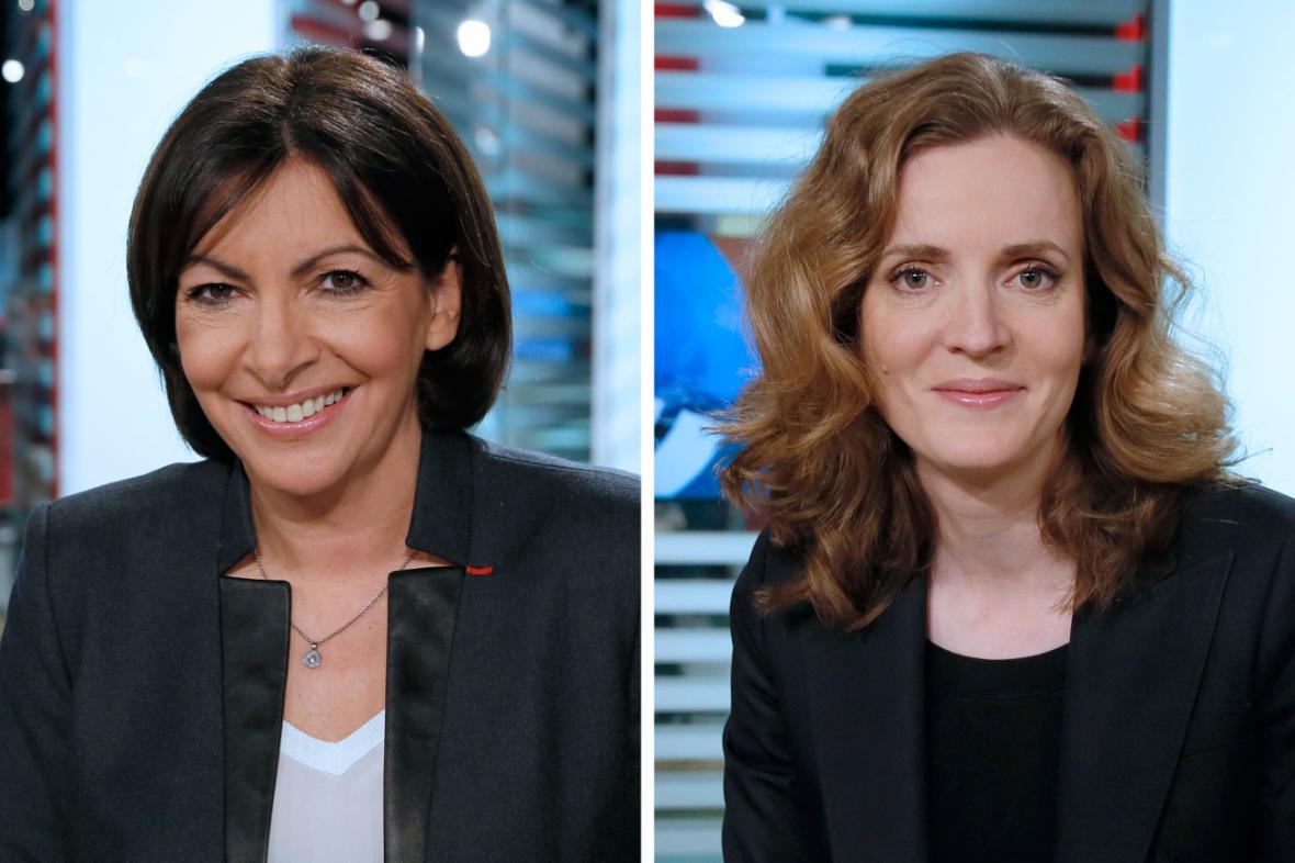 Anne Hidalgová a Nathalie Kosciusková-Morizetová