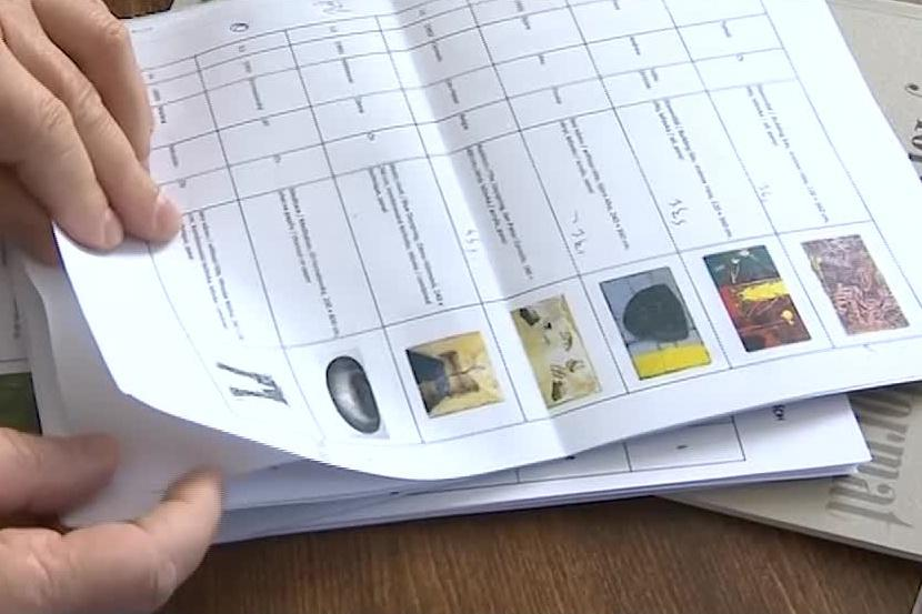 Seznam zničených a ukradených pláten