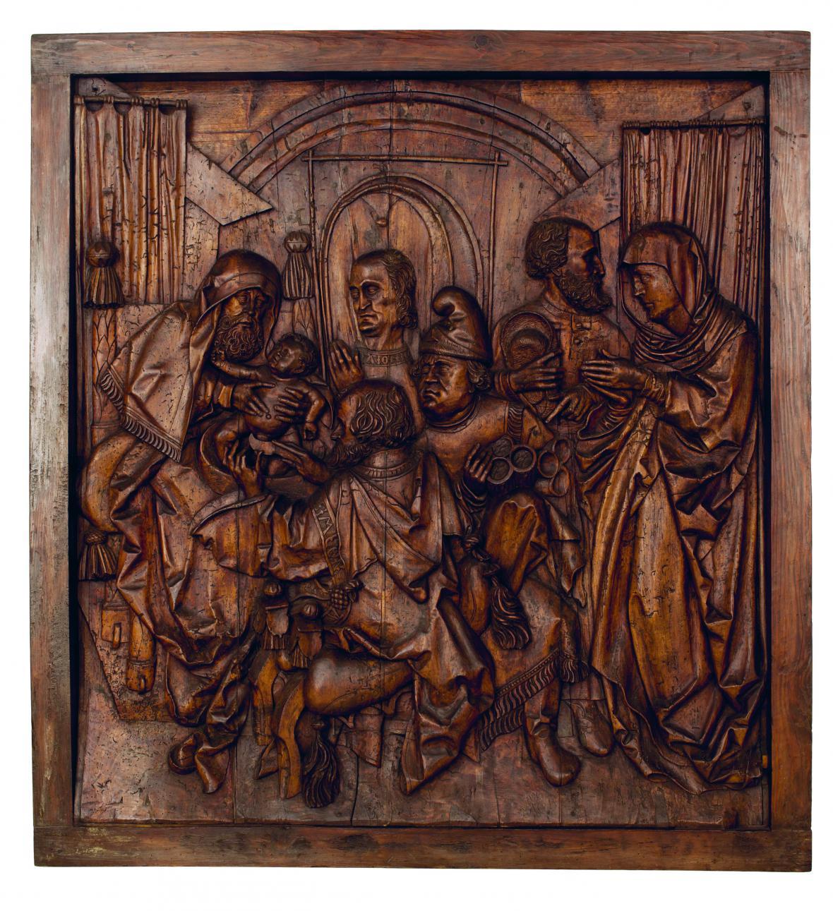 Mistr Altöttinských dveří / Obřezání Krista