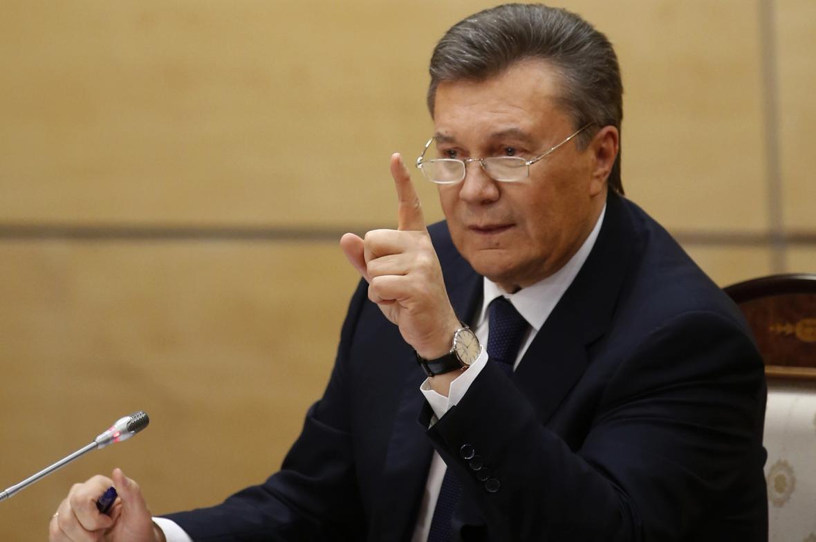 Viktor Janukovyč promluvil z Ruska k Ukrajincům i k světu