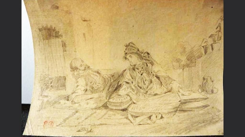 Obraz z Gurlittovy sbírky