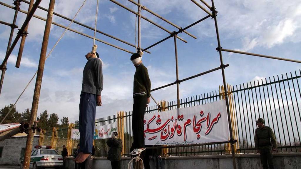 Íránská poprava
