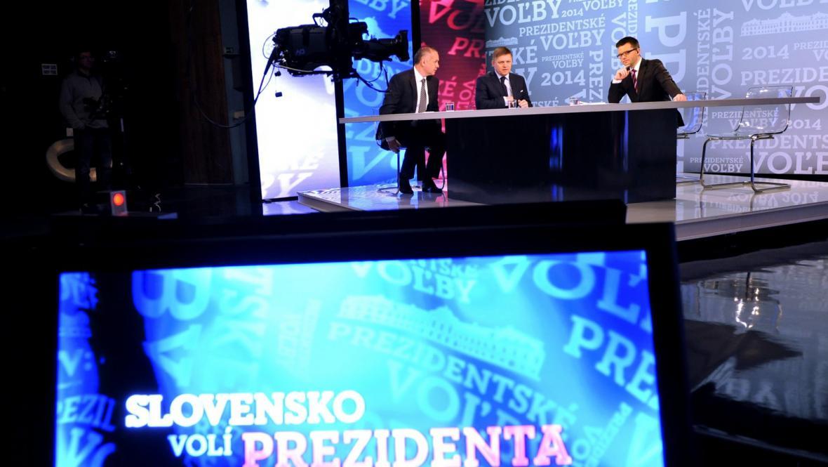 Debata kandidátů na slovenského prezidenta