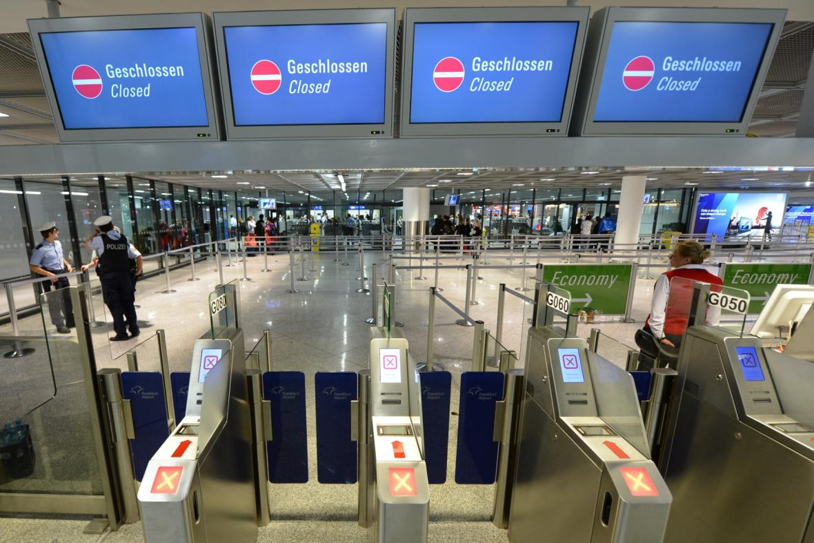 Stávka na letišti ve Frankfurtu nad Mohanem
