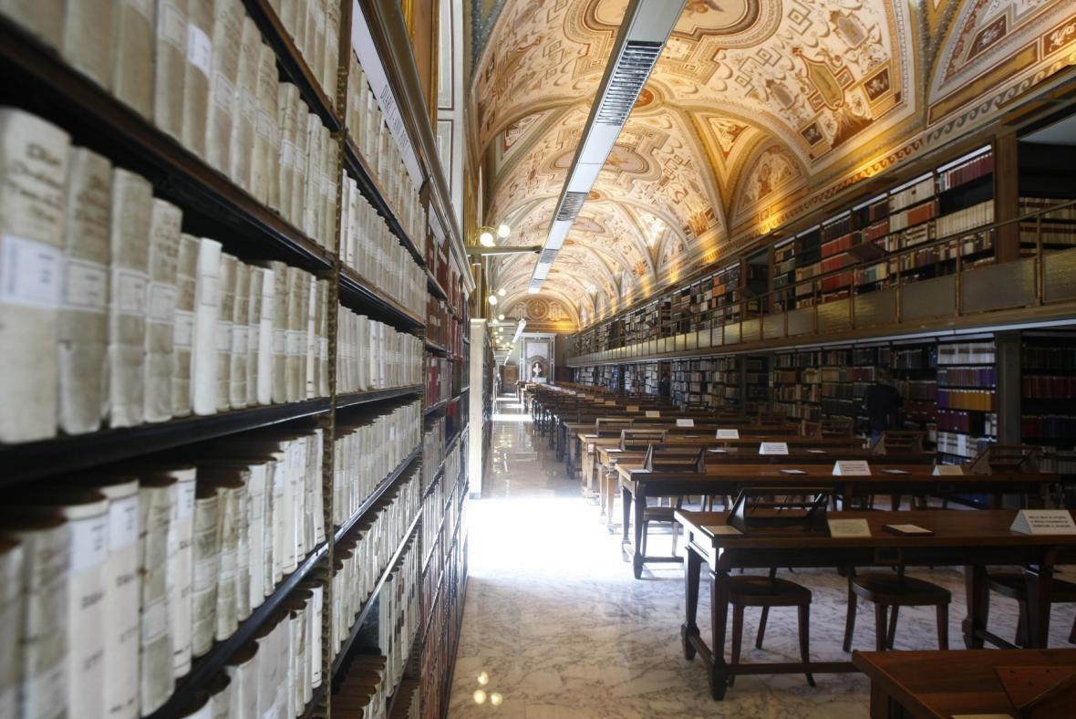 Studovna Vatikánské apoštolské knihovny