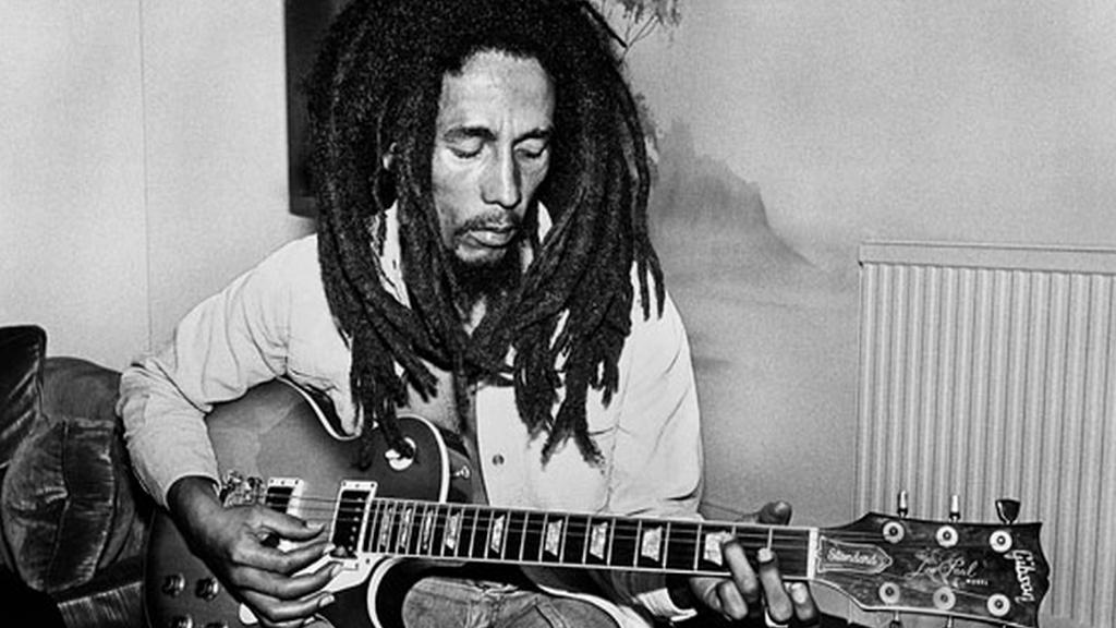 Dennis Morris / Bob Marley (poslední fotografie)