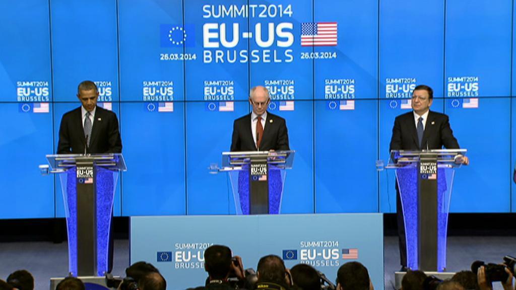 Brífink po summitu EU-USA
