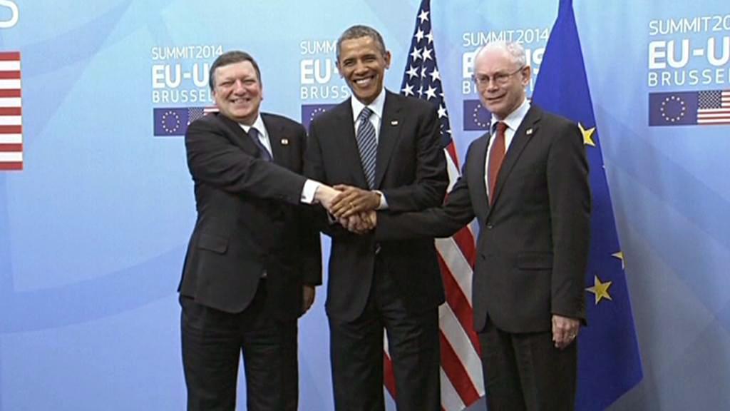 José Barroso, Barack Obama a Herman Van Rompuy