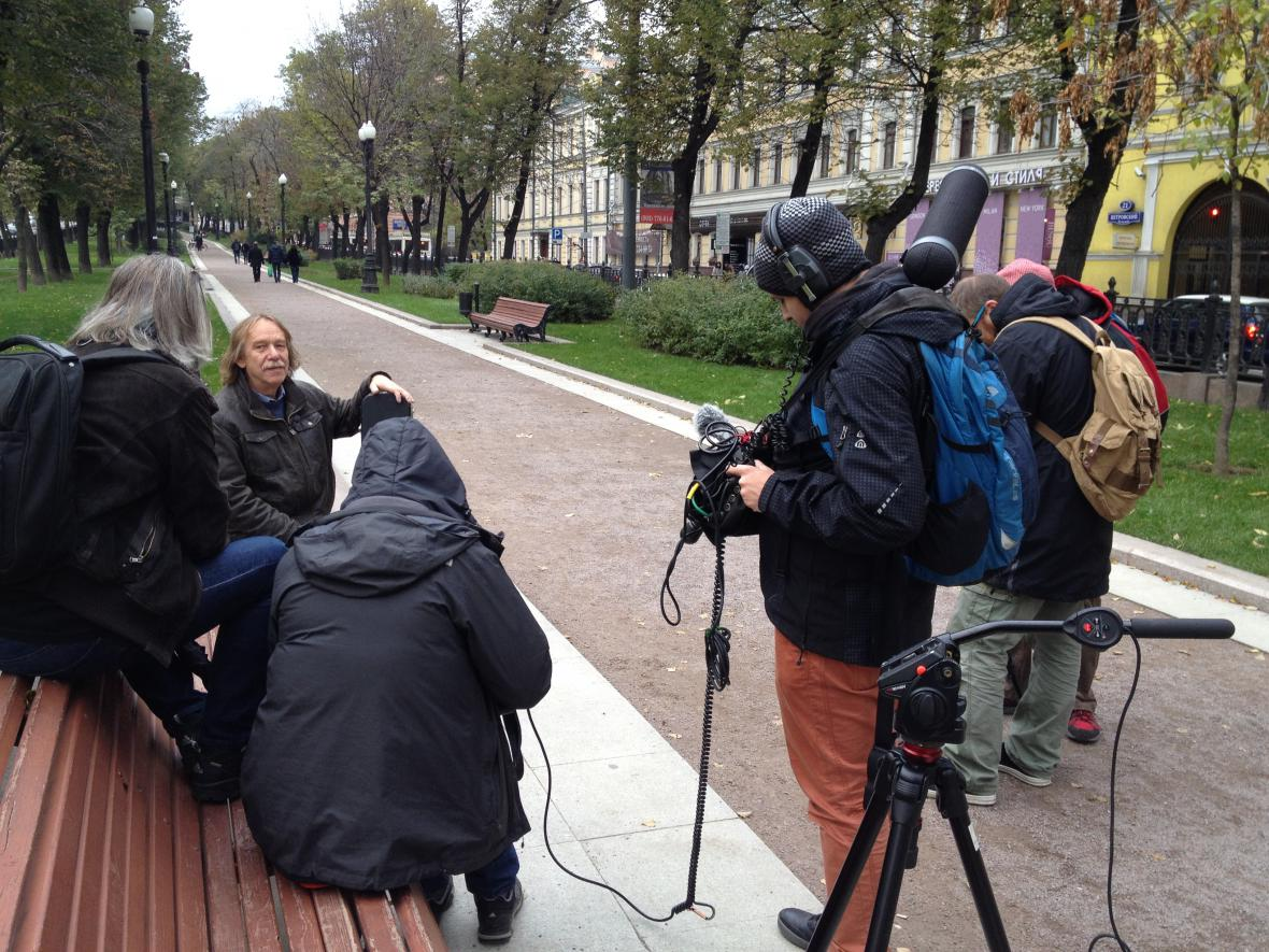 Jarek Nohavica v Moskvě