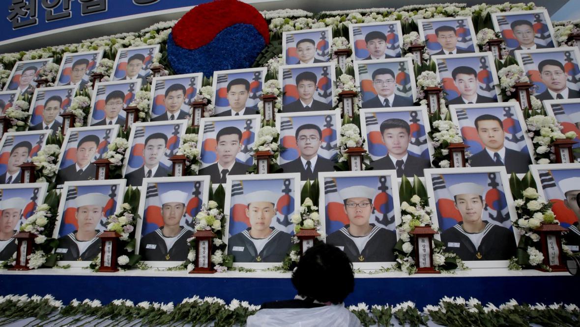 Výročí potopení jihokorejské korvety Čchonan