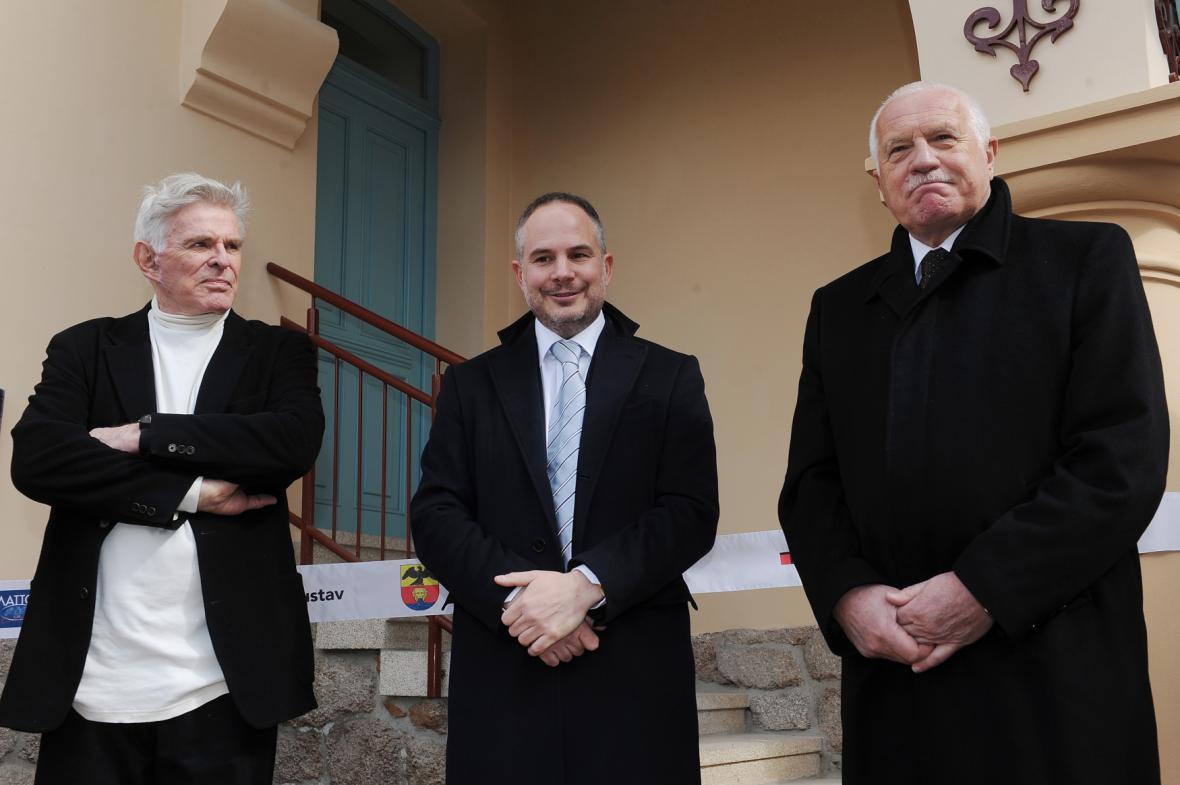 Rudolf Mattoni, Alessandro Pasquale a Václav Klaus