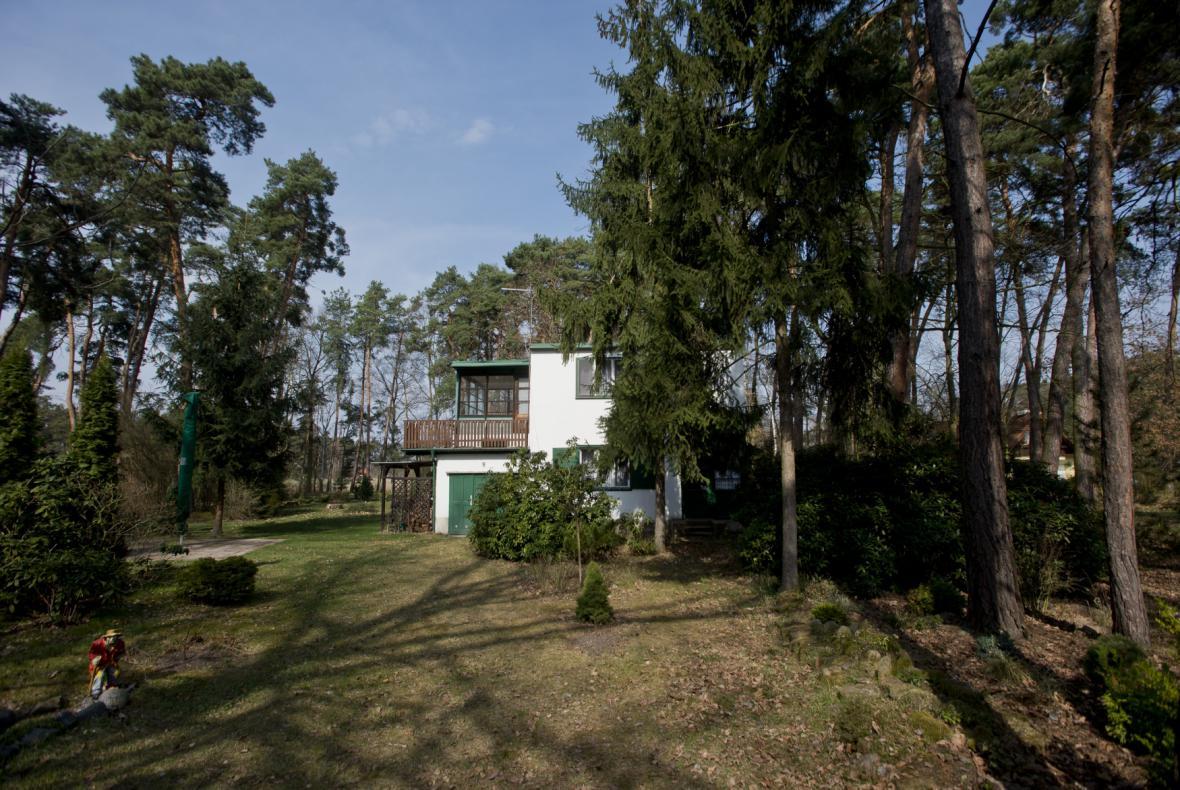 Chata Bohumila Hrabala v Kersku