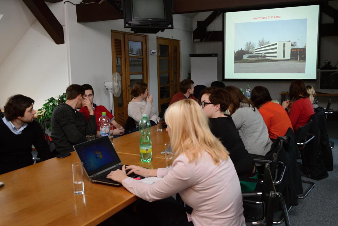 Prezentace nového studia ČT Brno