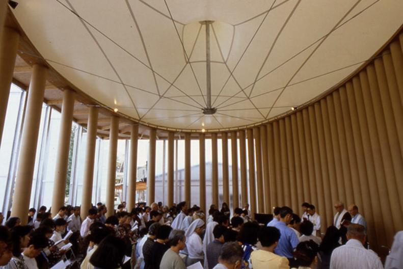Papírový kostel, Japonsko, 1995