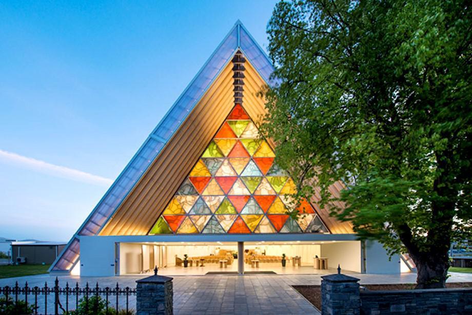Katedrála, Nový Zéland, 2013