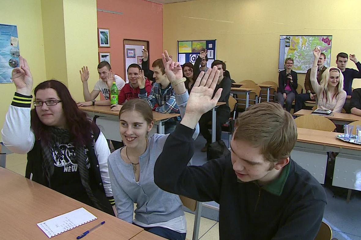 Studenti o jednotlivých scénkách hlasovali