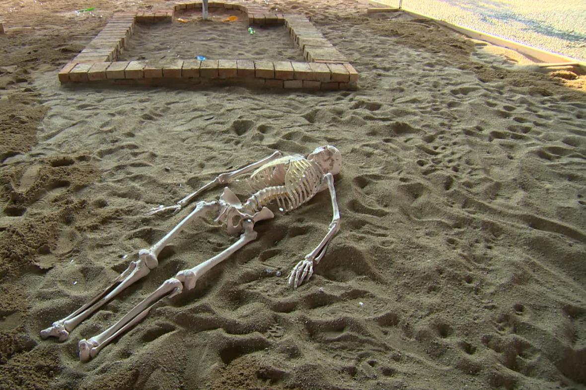 Improvizované archeologické naleziště