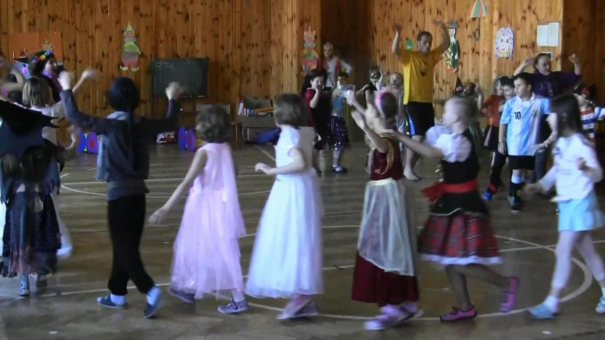 Dětský karneval v Borohrádku