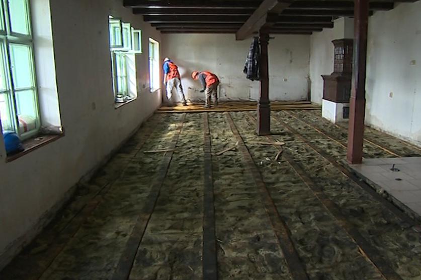 Obnova chaty podle návrhu Dušana Jurkoviče
