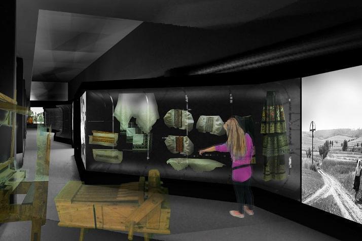 Vizualizace nové expozice Slováckého muzea