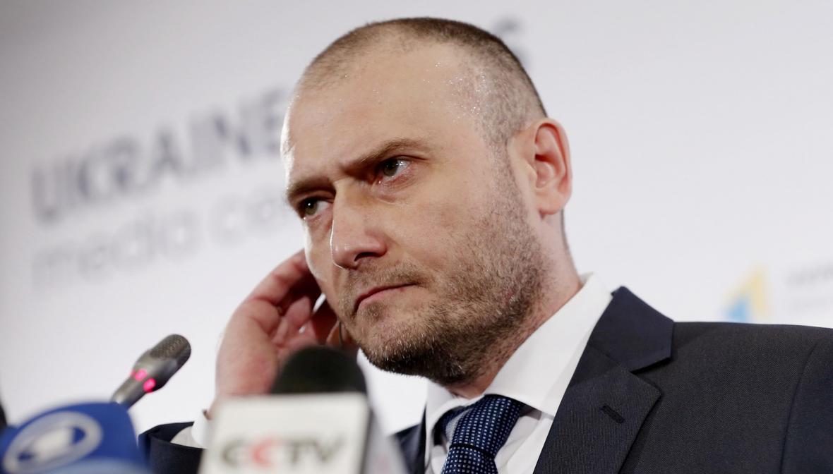Kandidát na ukrajinského prezidenta Dmytro Jaroš