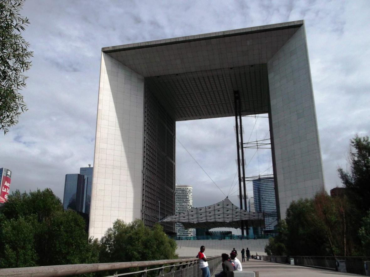 Velký oblouk v Paříži