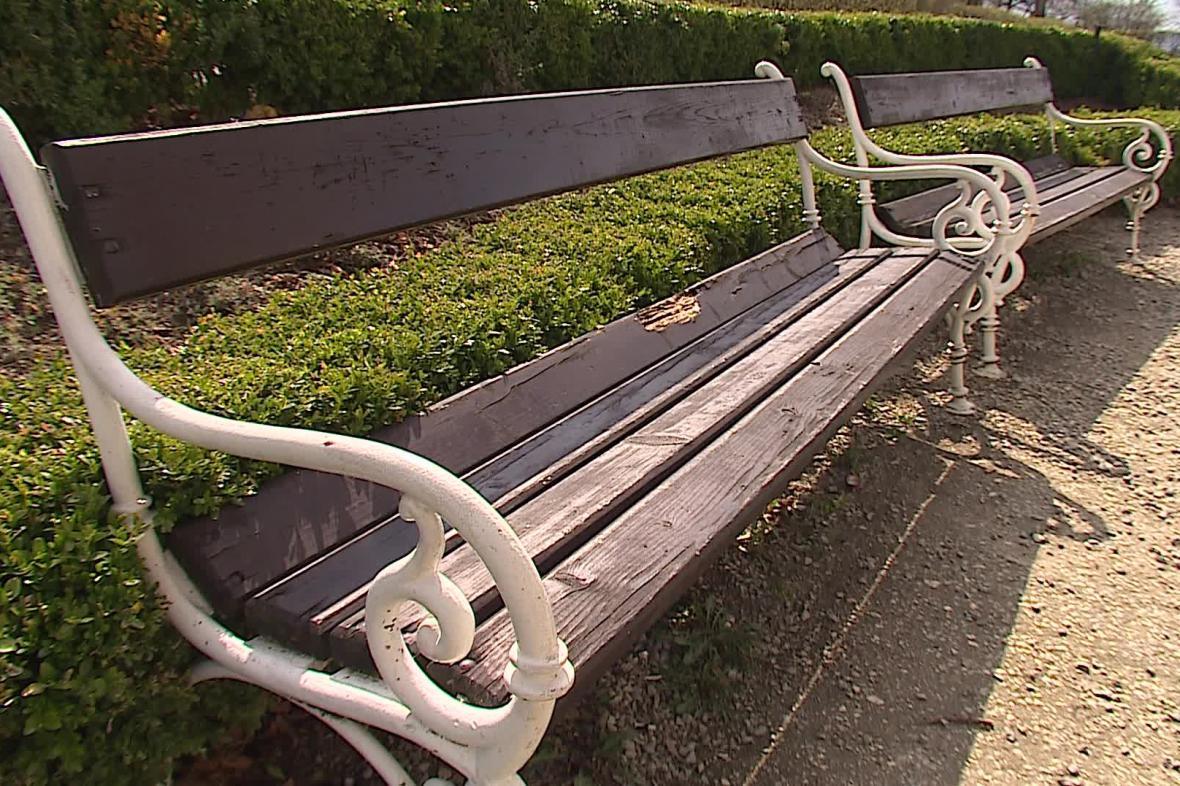 Obnova parku by mohla být hotová příští rok