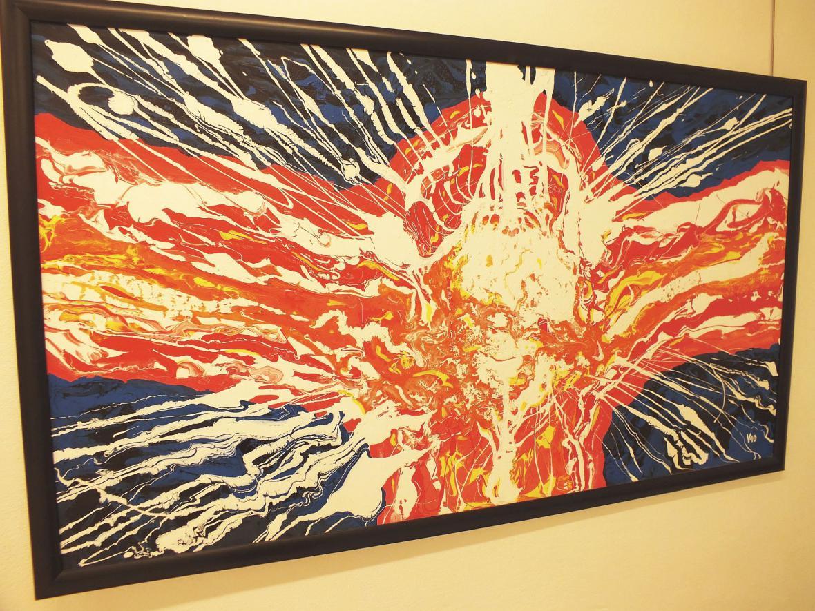 Vernisáž výstavy obrazů Vladimíra Kiseljova