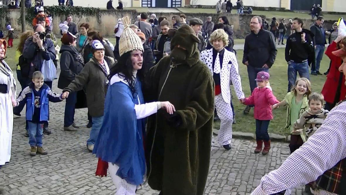 Masopust na zámku Ctěnice