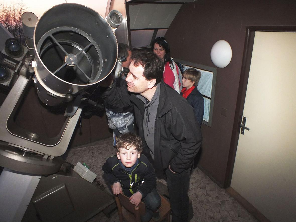 Prohlídka hvězdárny v Boskovicích