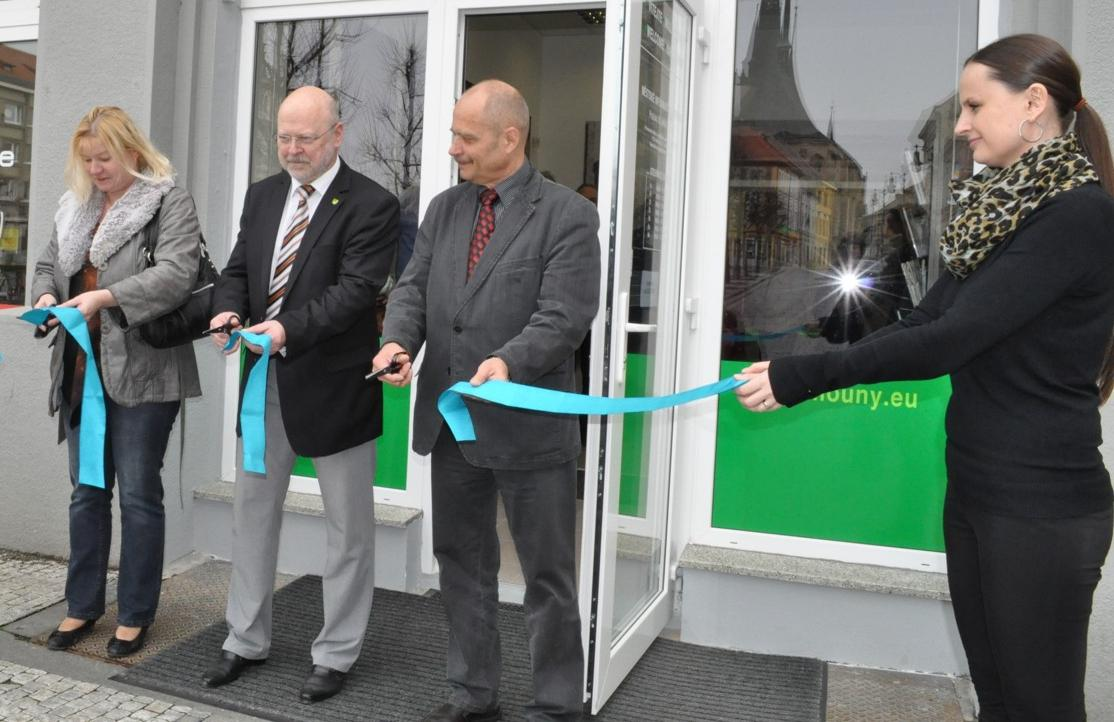 Louny - nové městské informační centrum