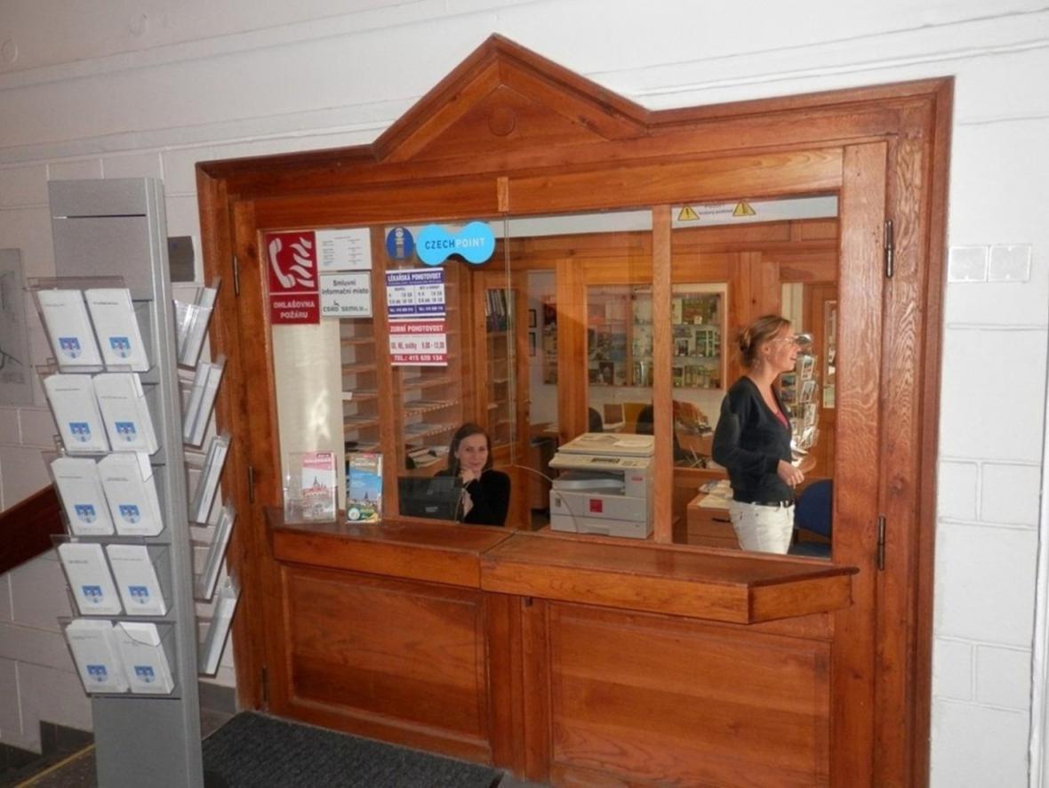 Původní infocentrum v Lounech