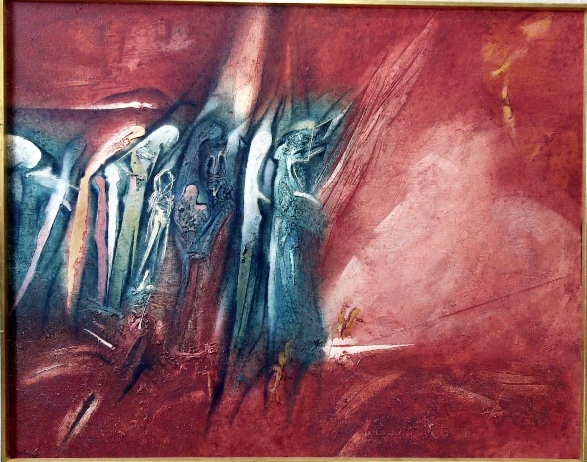 Jaroslav Šerých / Přechod Rudým mořem, 1986
