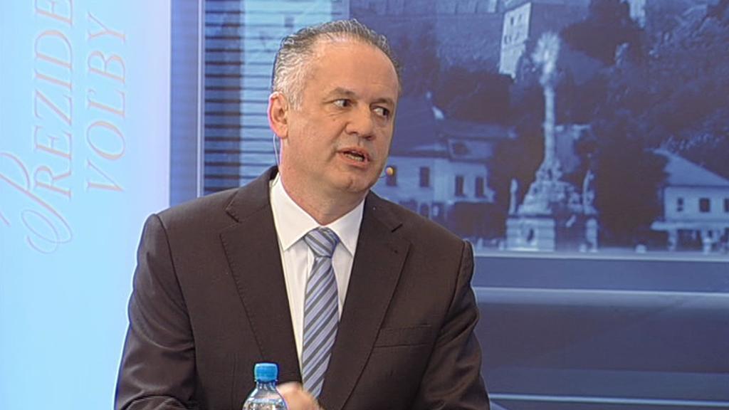 Prezidentský kandidát Andrej Kiska
