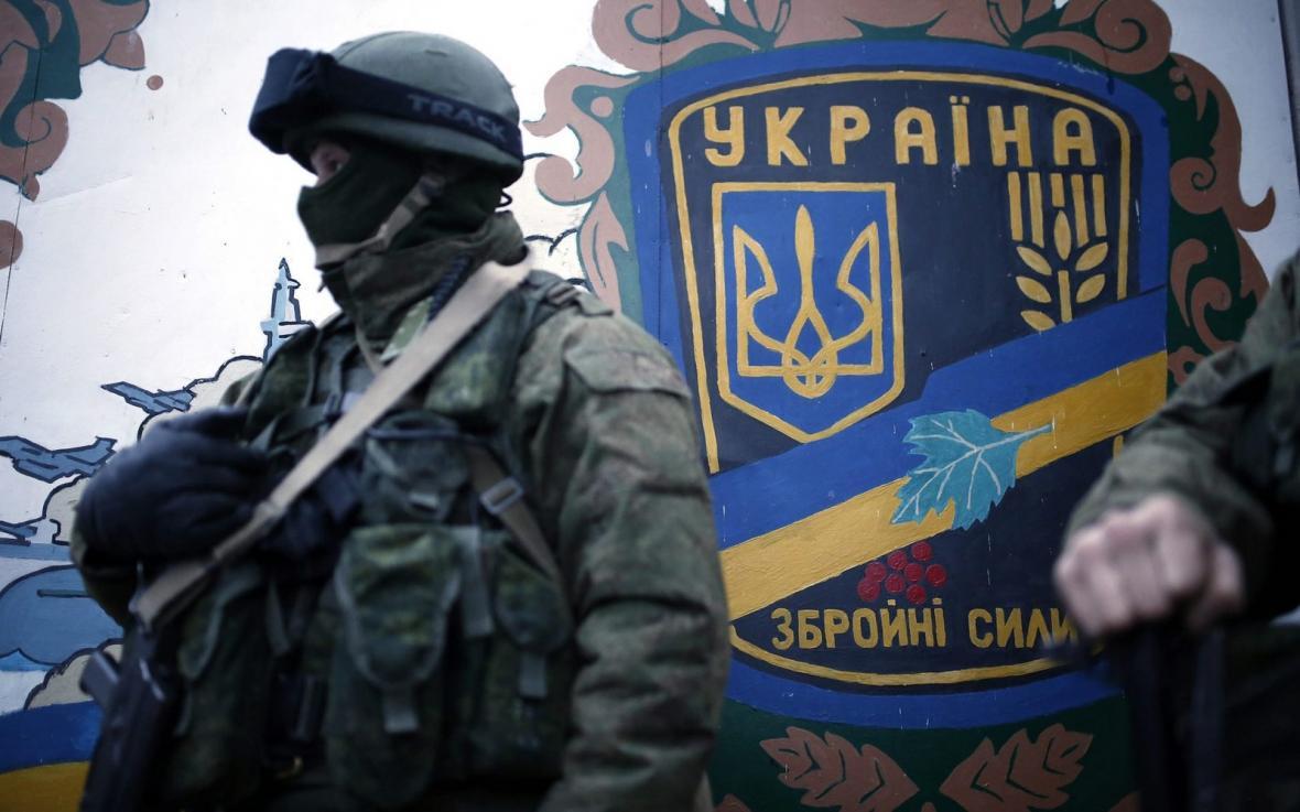Ruské ozbrojené síly na ukrajinském Krymu