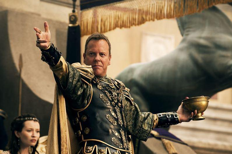 Pompeje (Kiefer Sutherland)