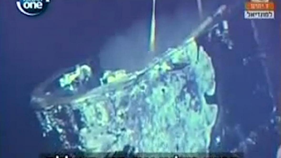 Vrak ponorky Dakar