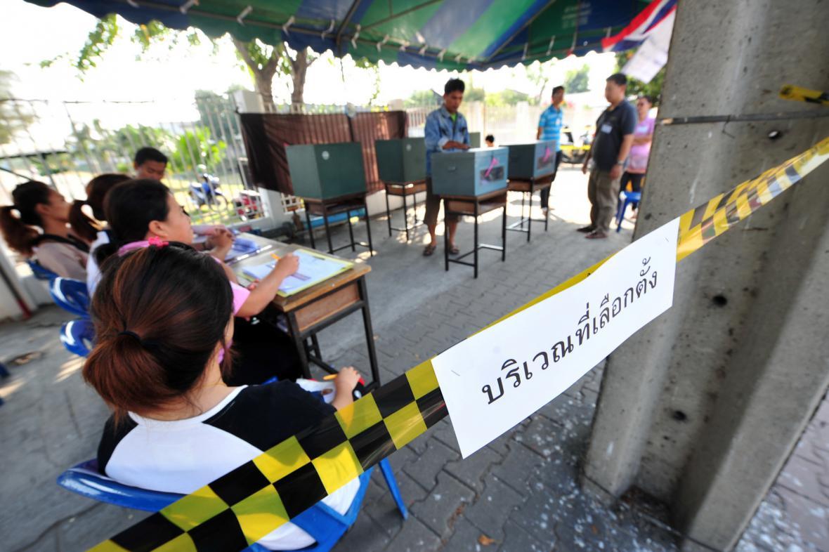 Parlamentní volby v Thajsku