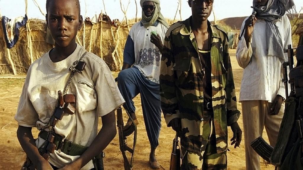 Dětští vojáci v Africe