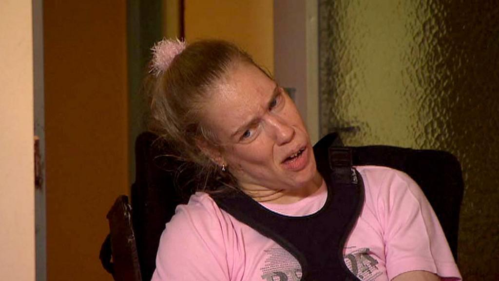 Handicapovaná Simona Soldánová