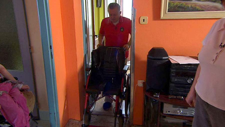 Nevhodný invalidní vozík od VZP